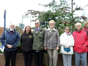 Stapleford Heritage walk led by Barbara Brooke