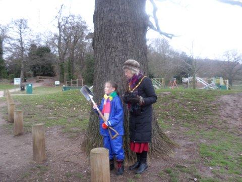 40th Anniversary Tree Planting Bramcote Park