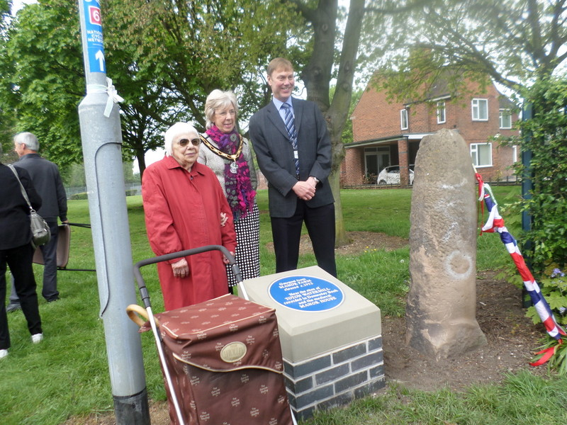Toton Blue Plaque unveiling - 29th April 2014