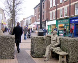 Beeston Man Statue
