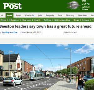 Beeston leaders say town has a great future ahead