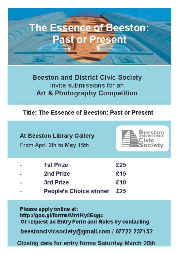 Beeston Civic Society Art Competition 2015