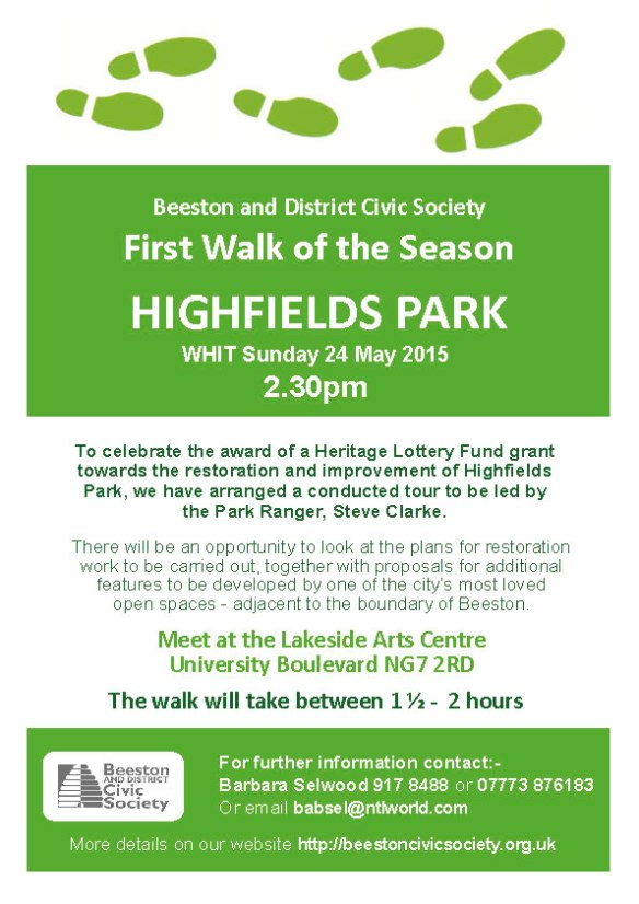 Highfields Walk - 24 May 2015