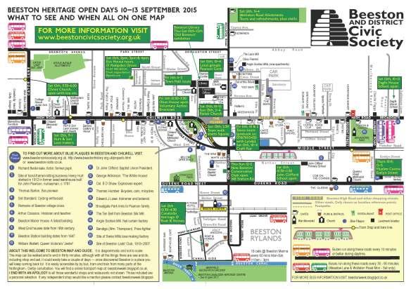 Beeston HOD Map