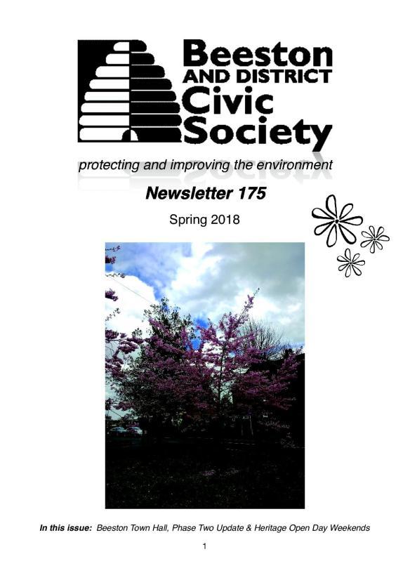 Newsletter 175 Spring edition.1