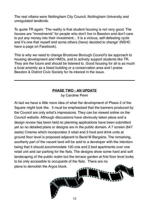 Newsletter 175 Spring edition.12