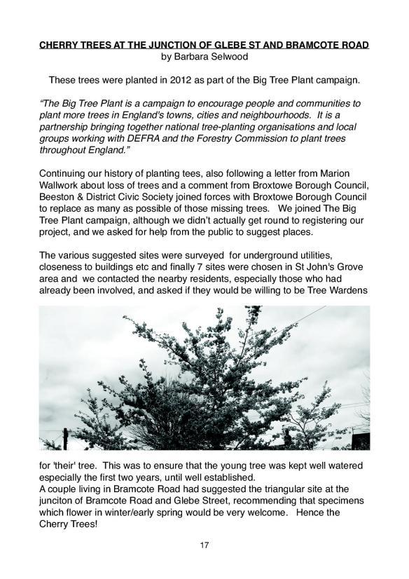 Newsletter 175 Spring edition.17
