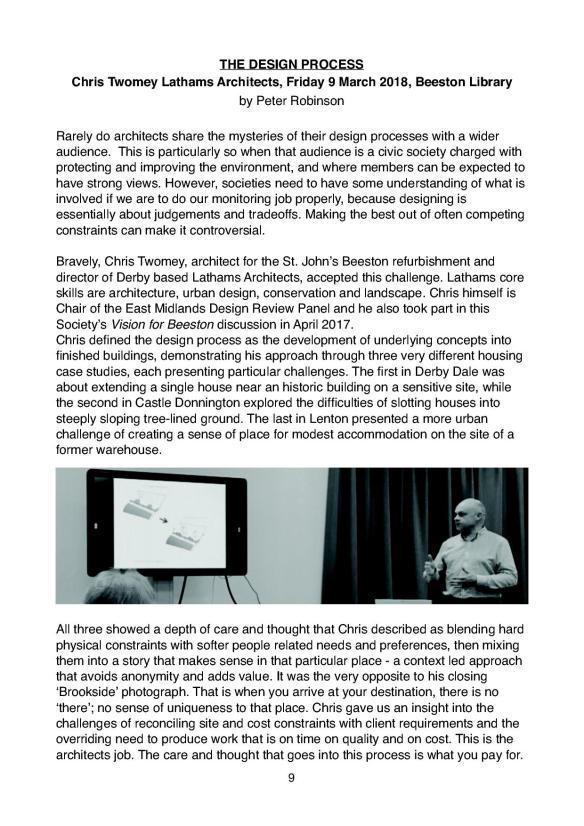 Newsletter 175 Spring edition.9