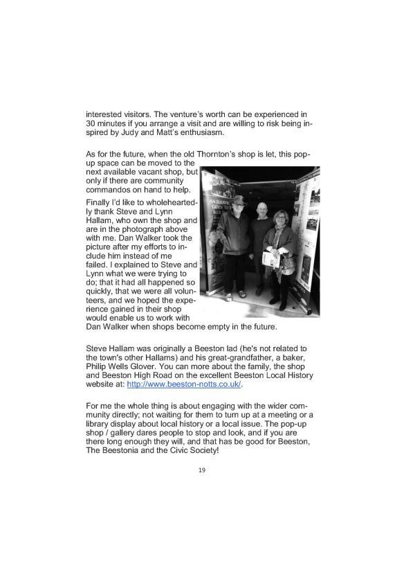 Newsletter 178 Autumn Final19