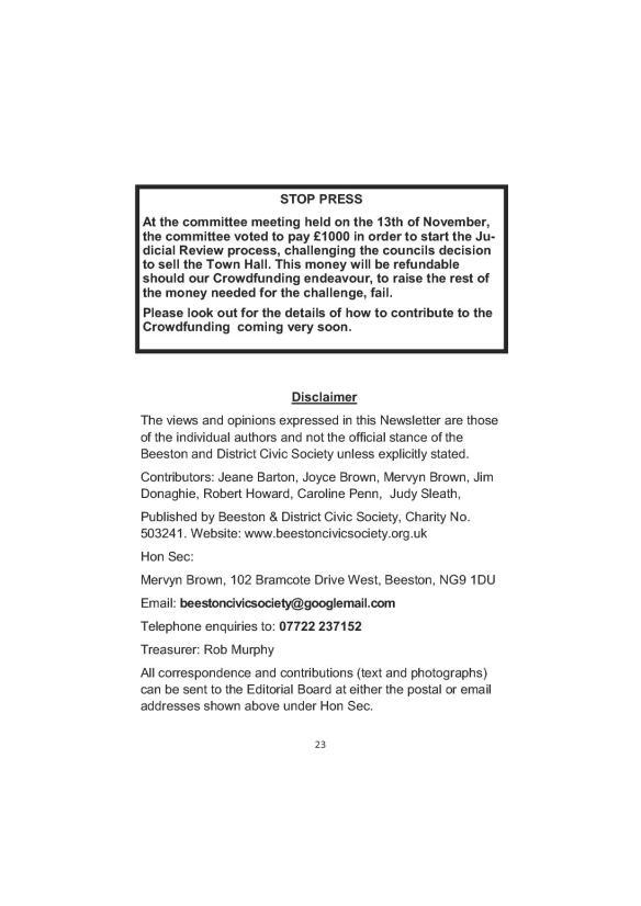 Newsletter 178 Autumn Final23