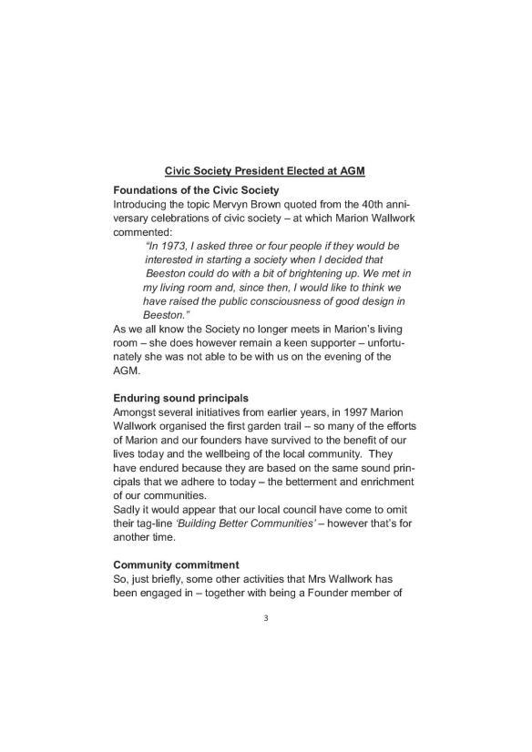 Newsletter 178 Autumn Final3